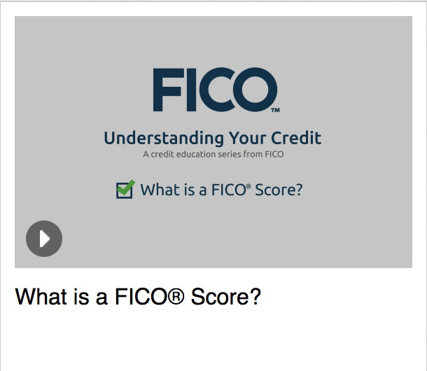 What is a FICO<sup>®</sup> Score